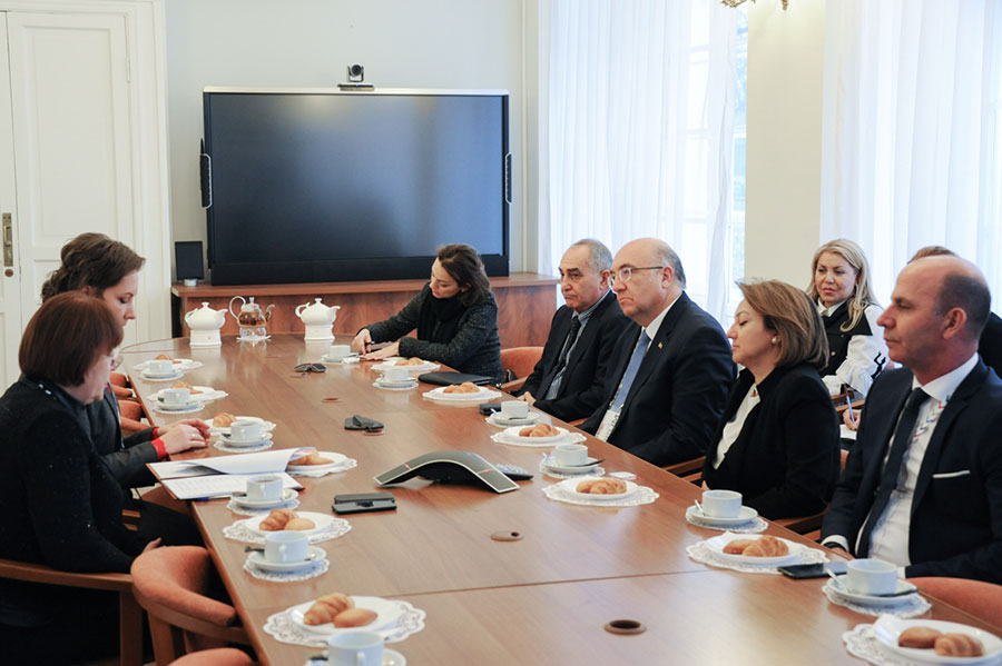 The University establishes relations with the Ministry of Culture and Tourism of the Republic of Turkey
