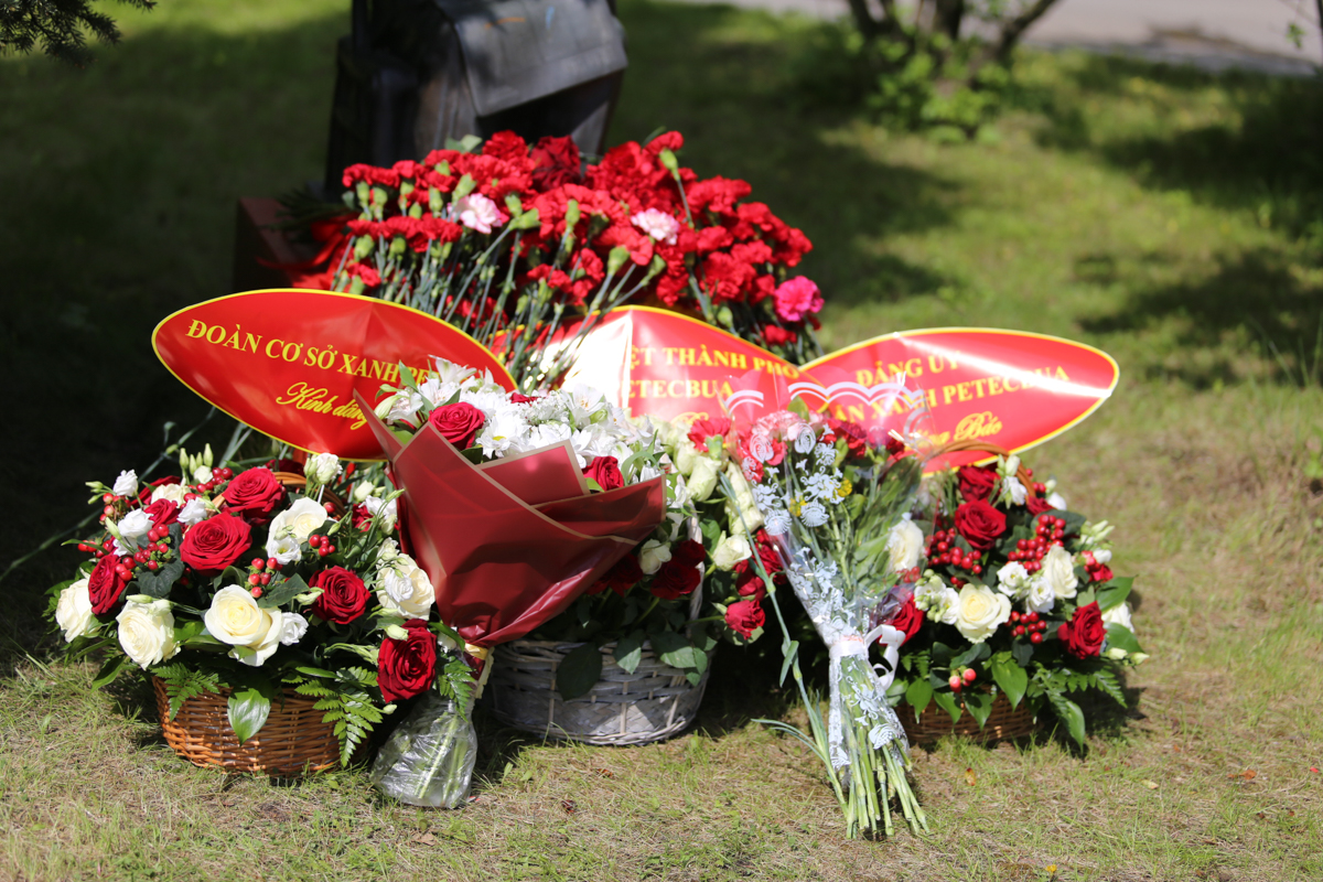 St Petersburg University hosts memorial events to mark the birthday of Ho Chi Minh