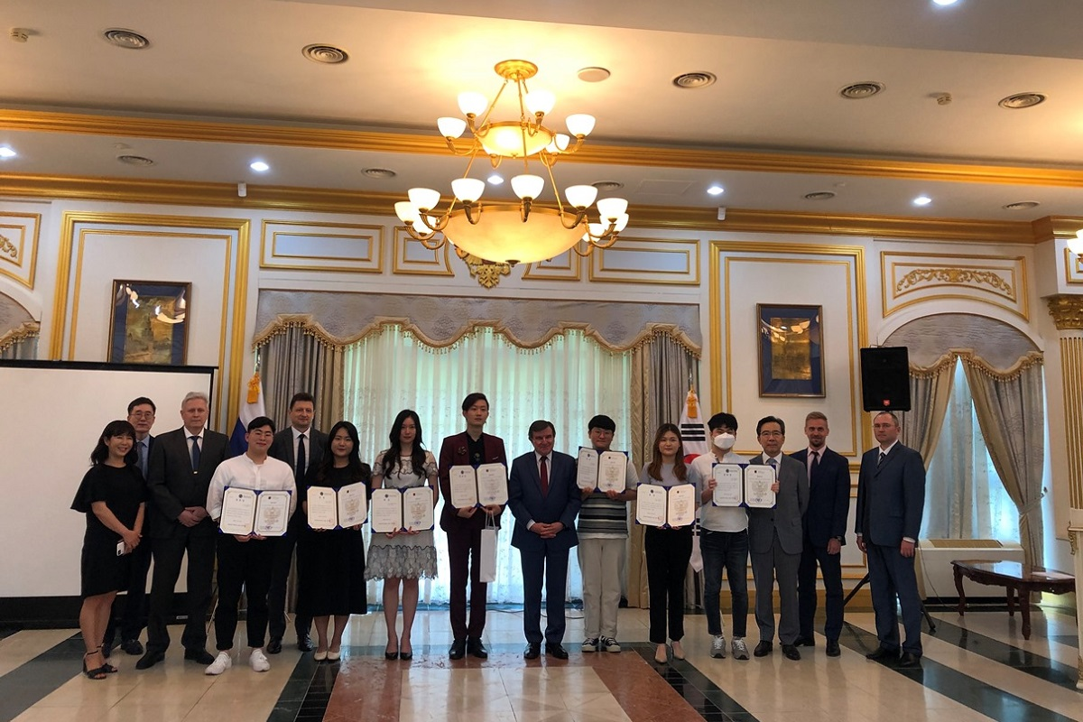 The Republic of Korea hosts a knowledge of Russian contest with St Petersburg University's direct involvement